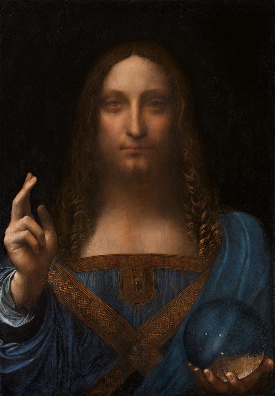 Salvator Mundi - Leonardo da Vinci
