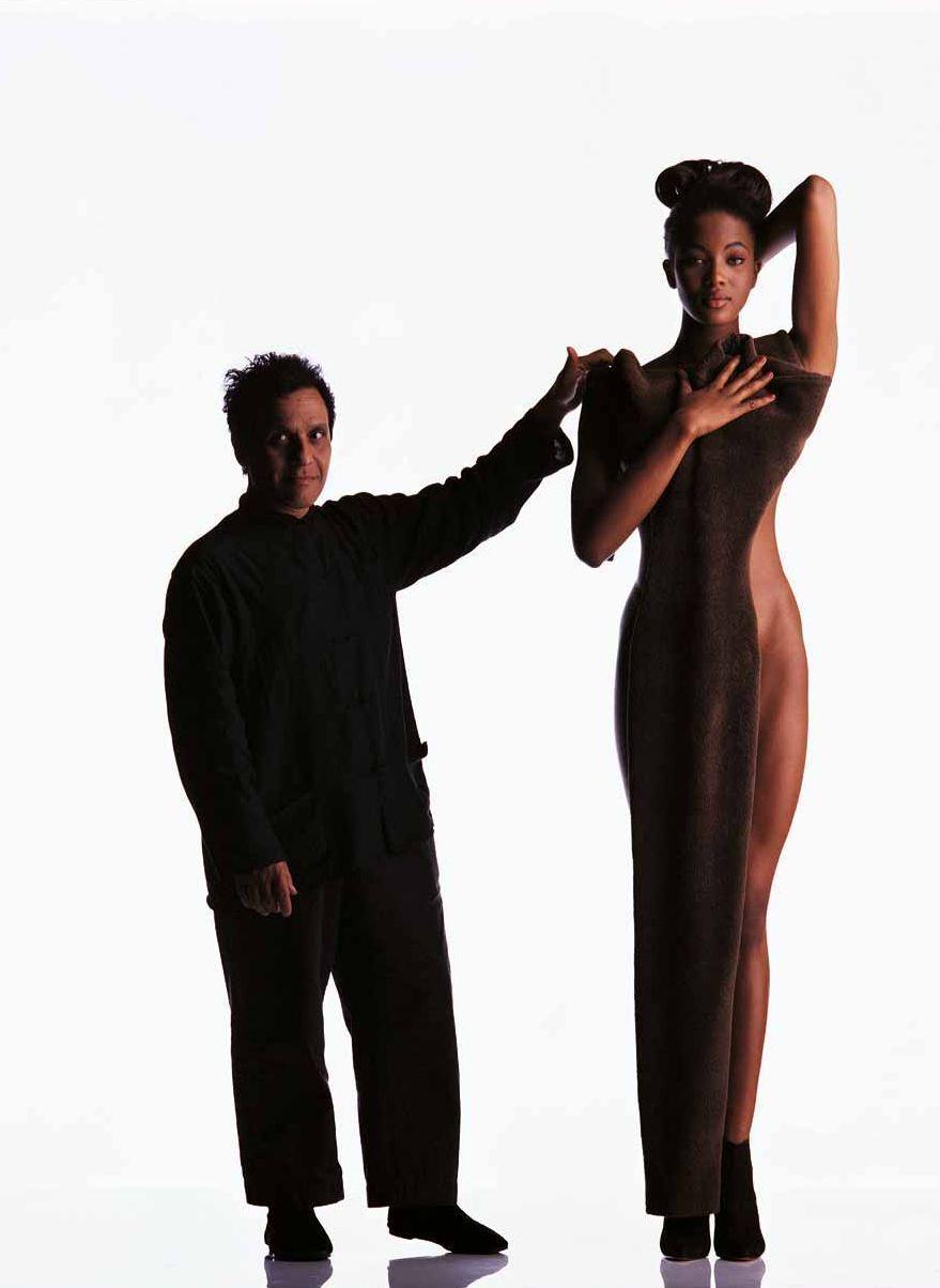 Azzedine Alaïa & Naomi Campbell
