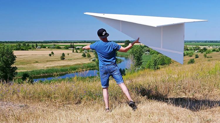 papiervliegtuig