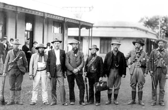 Generaal de Wet en sy staf te Potchefstroom 1901.