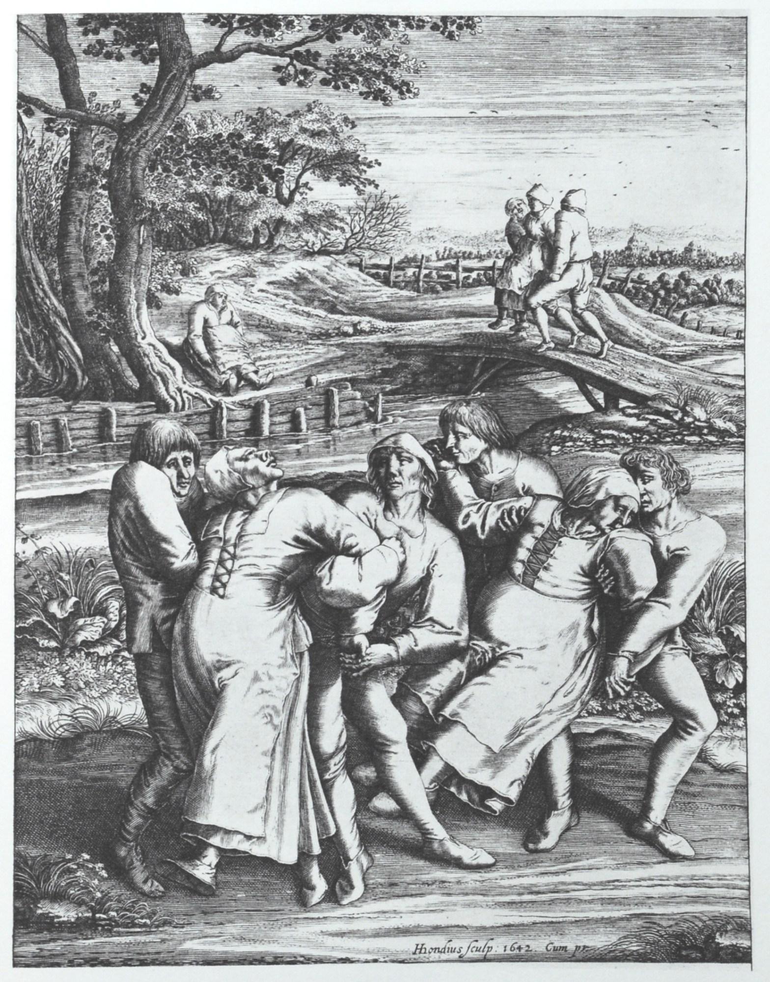 Die Wallfahrt der Fallsuechtigen nach Meulebeeck Pieter Bruegel
