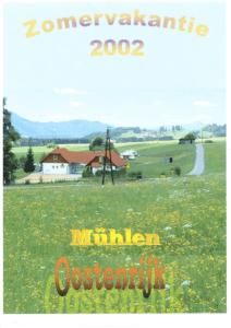 Zomervakantie 2002