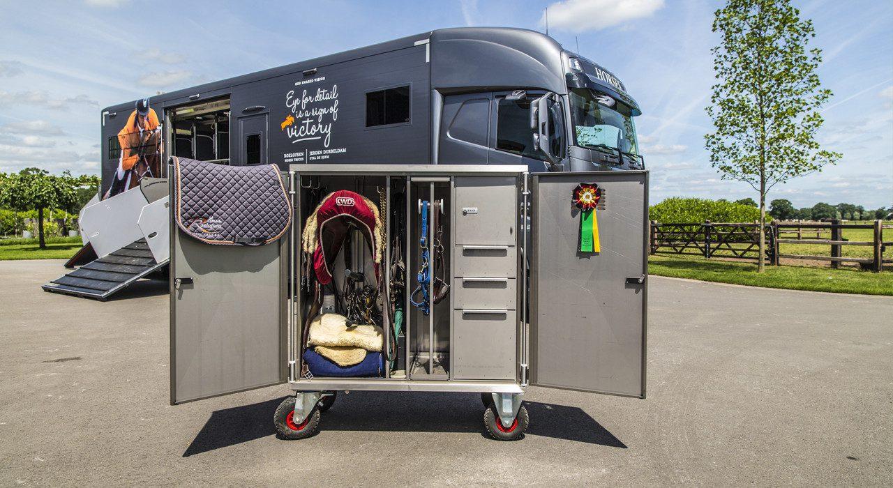 tack trunks roelofsen horse trucks
