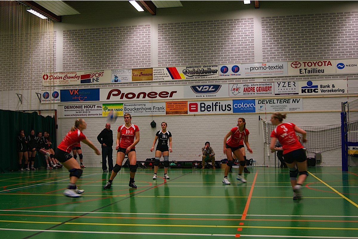 BEVO Roeselare – VC Zuun: 3-0
