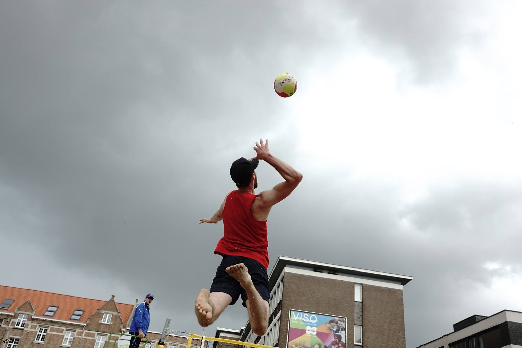 8e manche BK Beachvolley in Roeselare