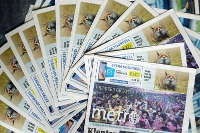 Publication Metro Netherlands and International Metro Zen Fox Series
