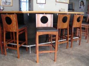 Ernas Barstole - indkøbt 14.oktober 2009