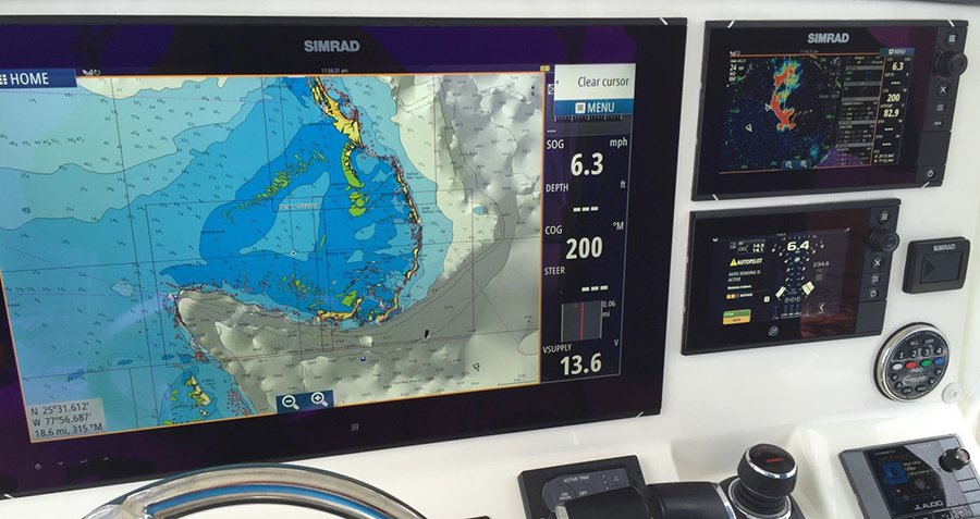 "SIMRAD Using ""Bird Mode"" in Halo Radar for the First Time"