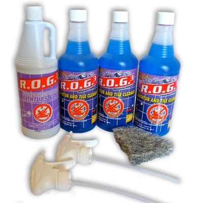 ROG3 Kit 1 Bathtub And Shower Cleaner ROG3 Cleaner