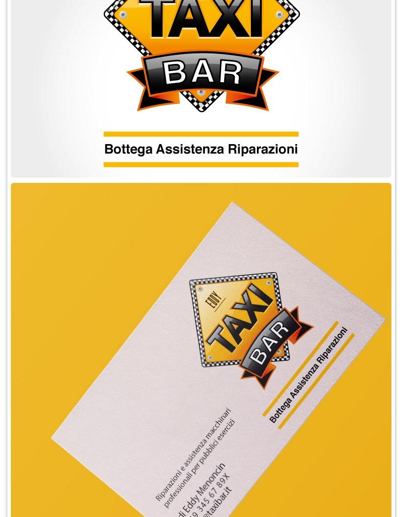 Taxi bar logo