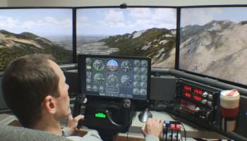 Flight Simulator Gauges Panel