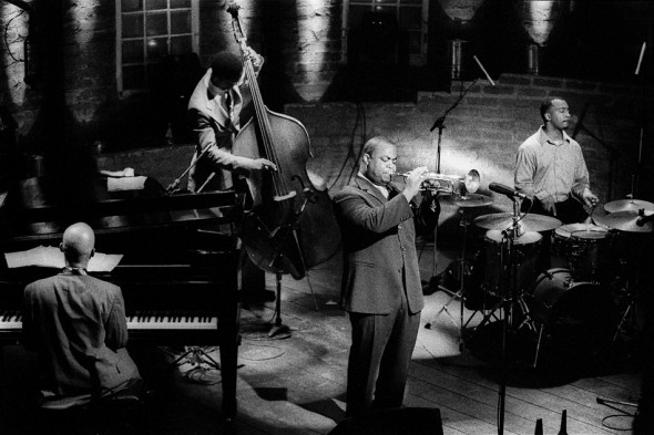 Nicholas Payton em São Paulo no Bourbon Street Music Club, 2001.