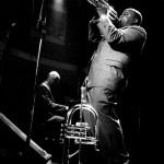 Jazz trumpet player Nicholas Payton performs at the Bourbon Street Music Club in São Paulo, 2001.