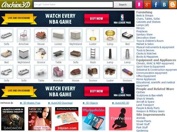 Archive 3D | archive3d.net