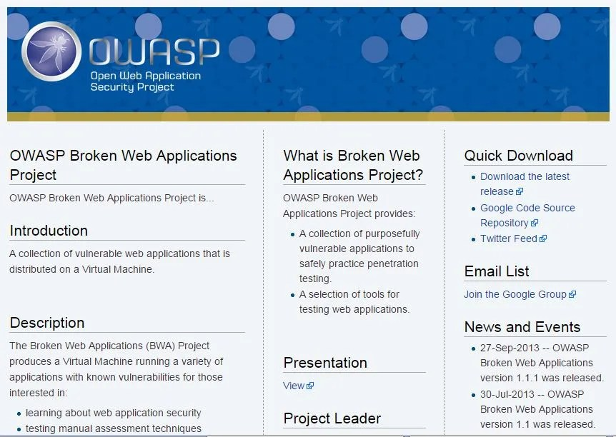 Apps To Test – Hacking Vulnerable Web Applications | Rogerio da