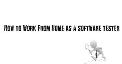 how to work from home as software tester