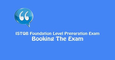 ISTQB Foundation Level Exam - Booking The Exam