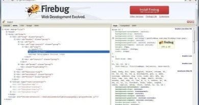 firebug chrome extension