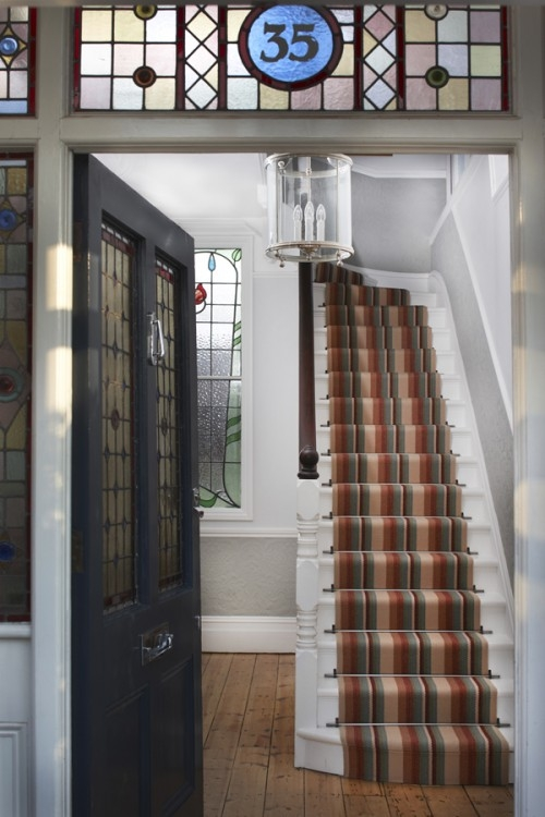 What Should I Do On My Landing Roger Oates Blog – Stairs And   Carpet Down Middle Of Stairs   Stair Rods   Wood   Hardwood   Steps   Laminate Flooring