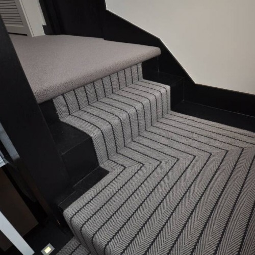 What Should I Do On My Landing Roger Oates Blog – Stairs And   Carpet Runners For Stairs And Landing   Carpet Hampton Style   Hallway   Stair Runner Matching Landing   Fitted   Farmhouse