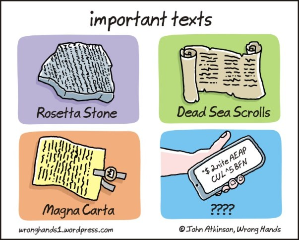 http://wronghands1.wordpress.com/2013/07/06/important-texts/ used under CC license: by-nc-nd/