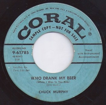 who drank my beer.chuck
