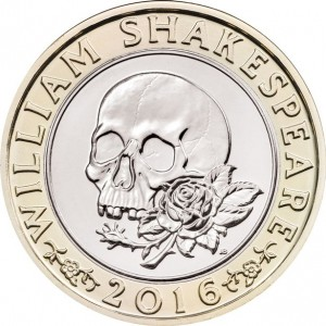 Shakespeare 2016-Coin