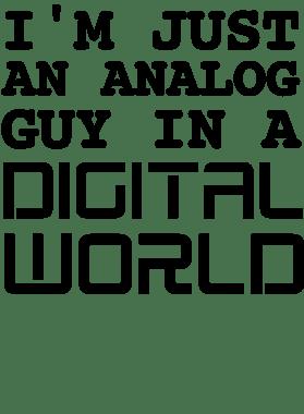 analog guy