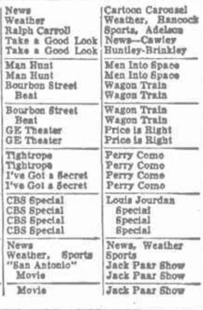 WNBF WINR TV Listings