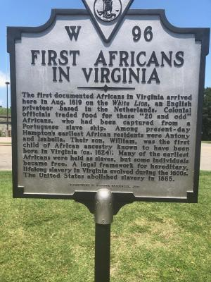 1619.first Africans in VA