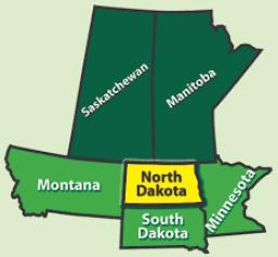 Saskatchewan.South Dakota