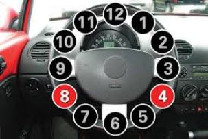 8 and 4 steering wheel