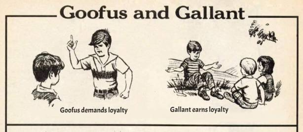 goofus and galliant