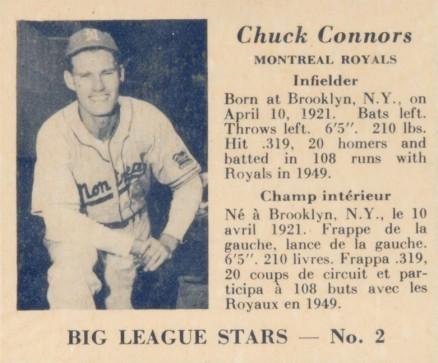 Chuck Connors.baseball