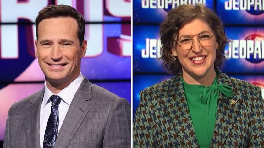 Mike Richards Mayim Bialik Jeopardy