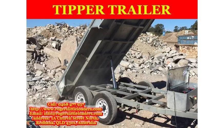 Tipper Trailer Rogers Little Loaders 05