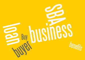SBA loan and buying a business