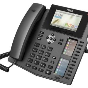 IP telefoon van Fanvil met kleurendisplay en tot 60 DSS keys