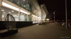 The new theatre in Newport on Usk