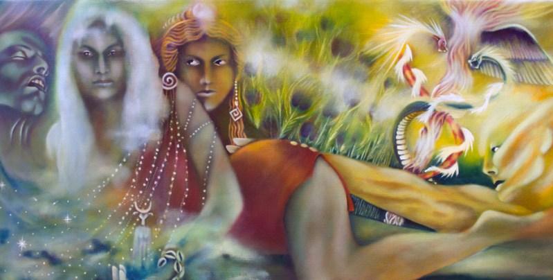 Paintings One, Mythology, Io Tells Her Story