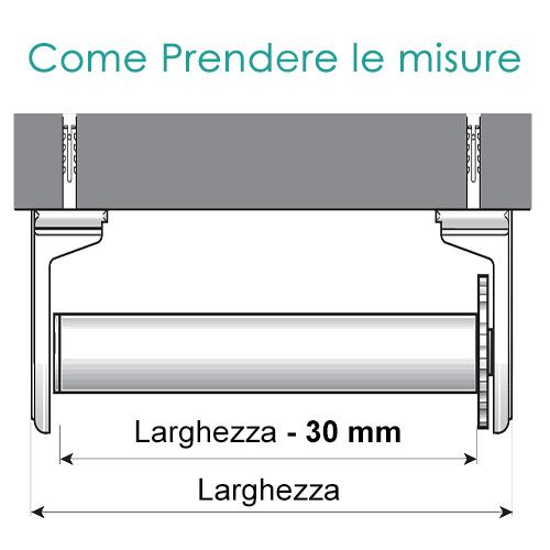 Il cassonetto protegge sia la manovra che il tessuto e migliora l'effetto. Tende A Rullo Con Molla Mottura A Prezzi In Offerta Online