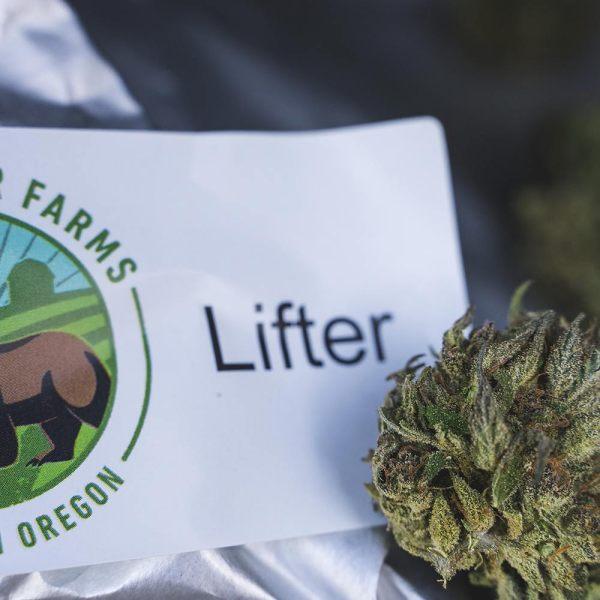 Hemp Flower Lifter by Rogue Bear Farms