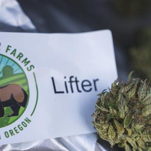 Hemp Flower Lifter by Rogue Bear Farms