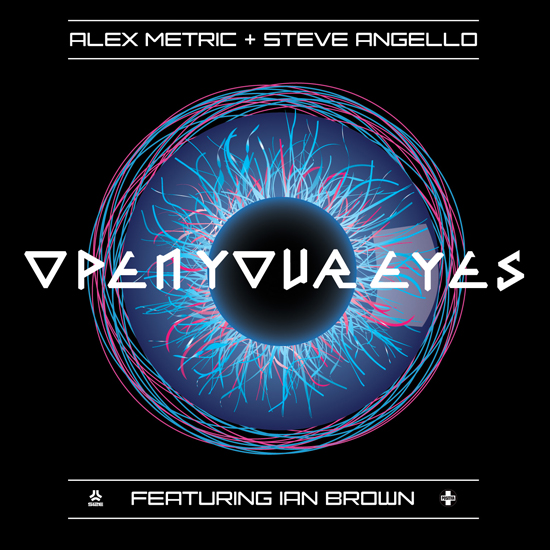 "Rogue Mag Music ALEX METRIC & STEVE ANGELLO ""Open Your Eyes"" (feat. Ian Brown)"