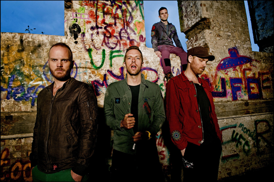 Rogue Mag Music Coldplay Every Teardrop is a Waterfall