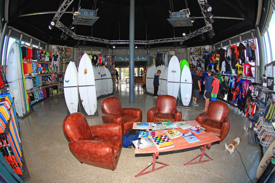Rogue Mag Brands Quiksilver new store in Fistral