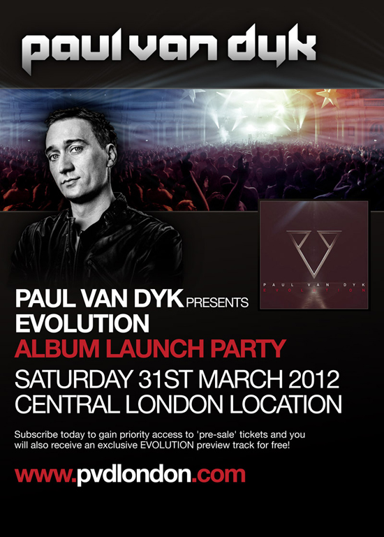 Rogue mag Music - Paul Van Dyk Evolution album launch party