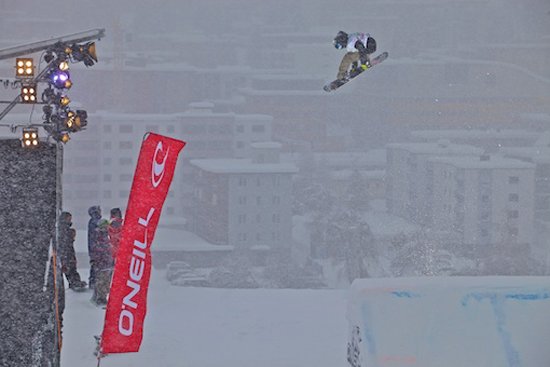 Rogue Mag Snow - O'Neill Evolution 2012 Davos Big Air Men Heat 2 Quali