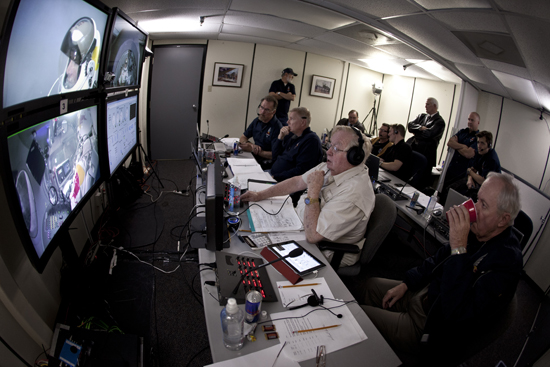 Rogue Mag - Red Bull Stratos Project - Mission control - Brooks Test