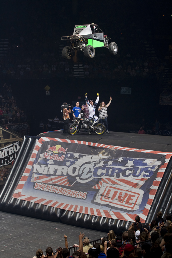 Challenge Travis Pastrana and his crew to take things to the next level!